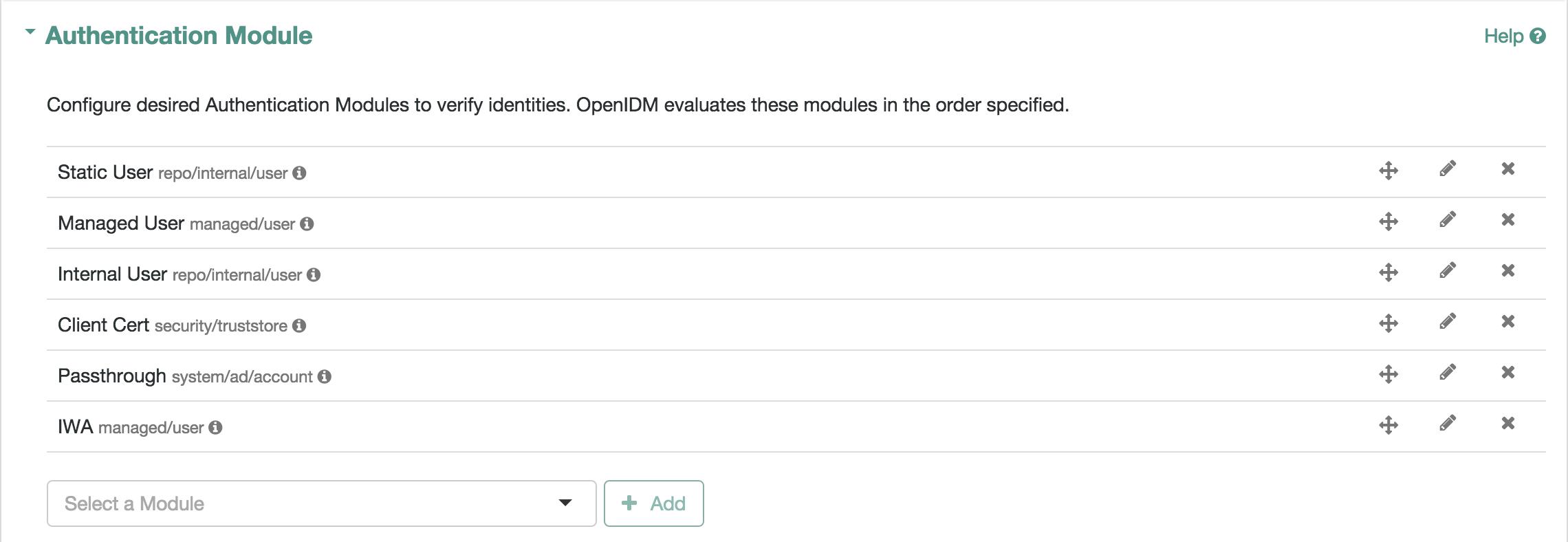 OpenIDM 4 Integrator s Guide