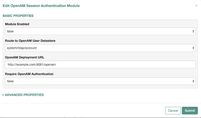OpenIDM 4 > Integrator's Guide